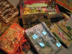 Sandra Scott Mixed Media Workshop