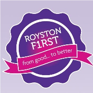 Royston First CR Logo
